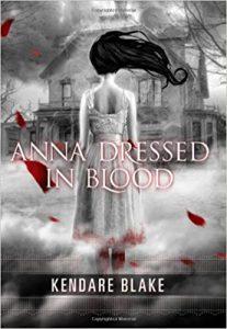 halloween book kendare blake anna dressed in blood