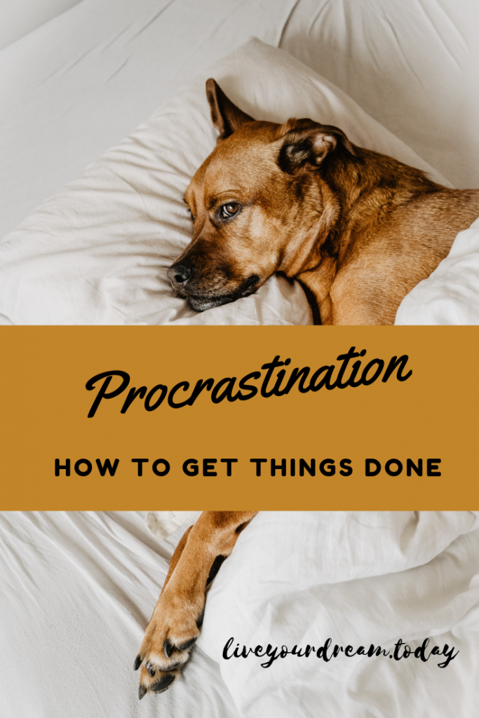 How to get things done and stop procrastinating