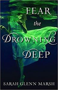 halloween book sarah marsh fear the drowning deep