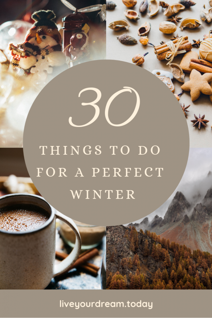 30 things to do for a perfect winter