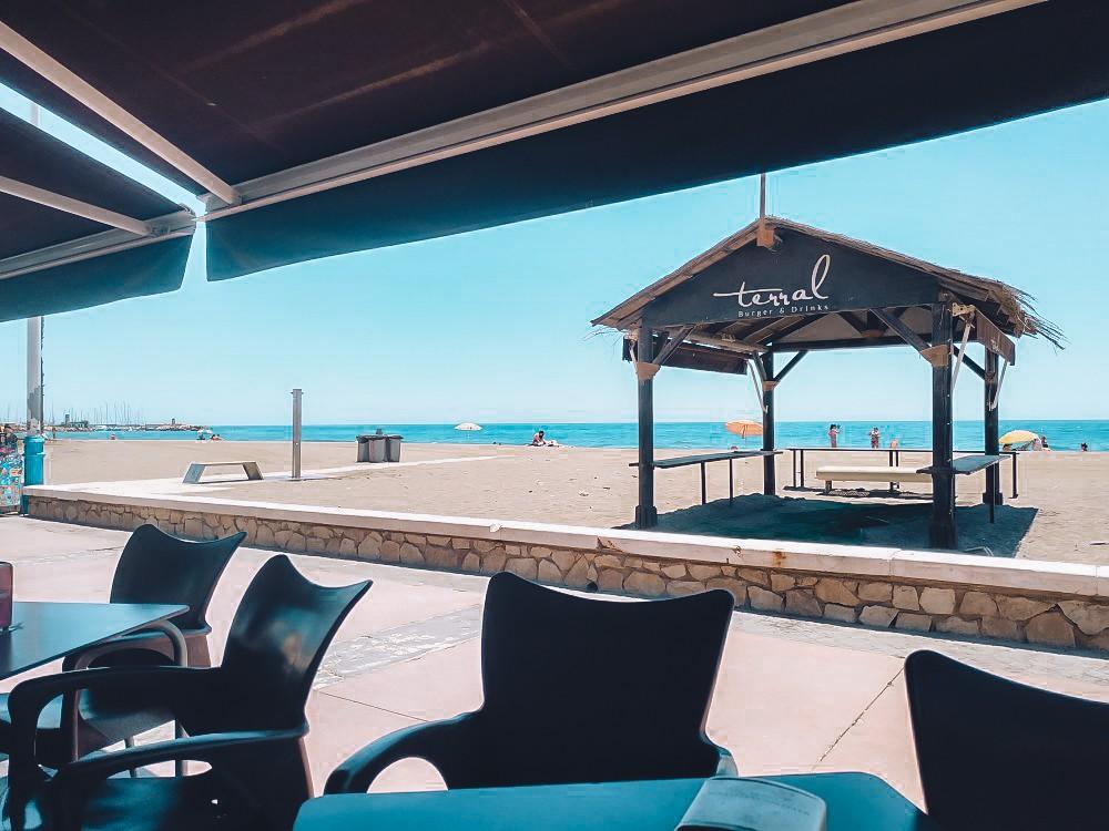 Terral Burger and Drinks sea view Malaga