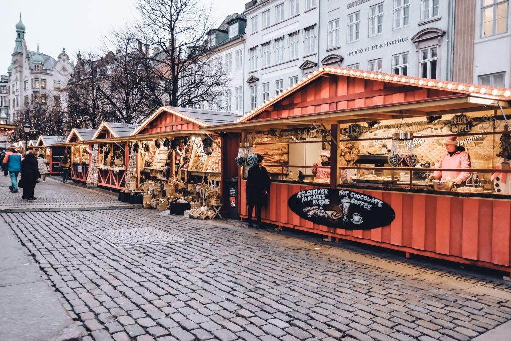 Højbro Plads Christmas Market booth