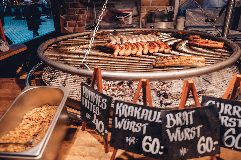 bratwurst sausages copenhagen