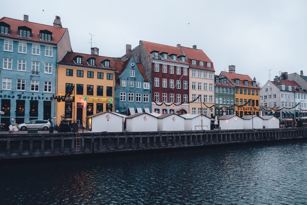 Nyhavn Christmas Market waterfront
