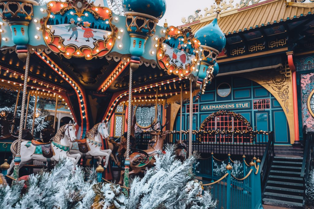 tivoli gardens christmas carousel