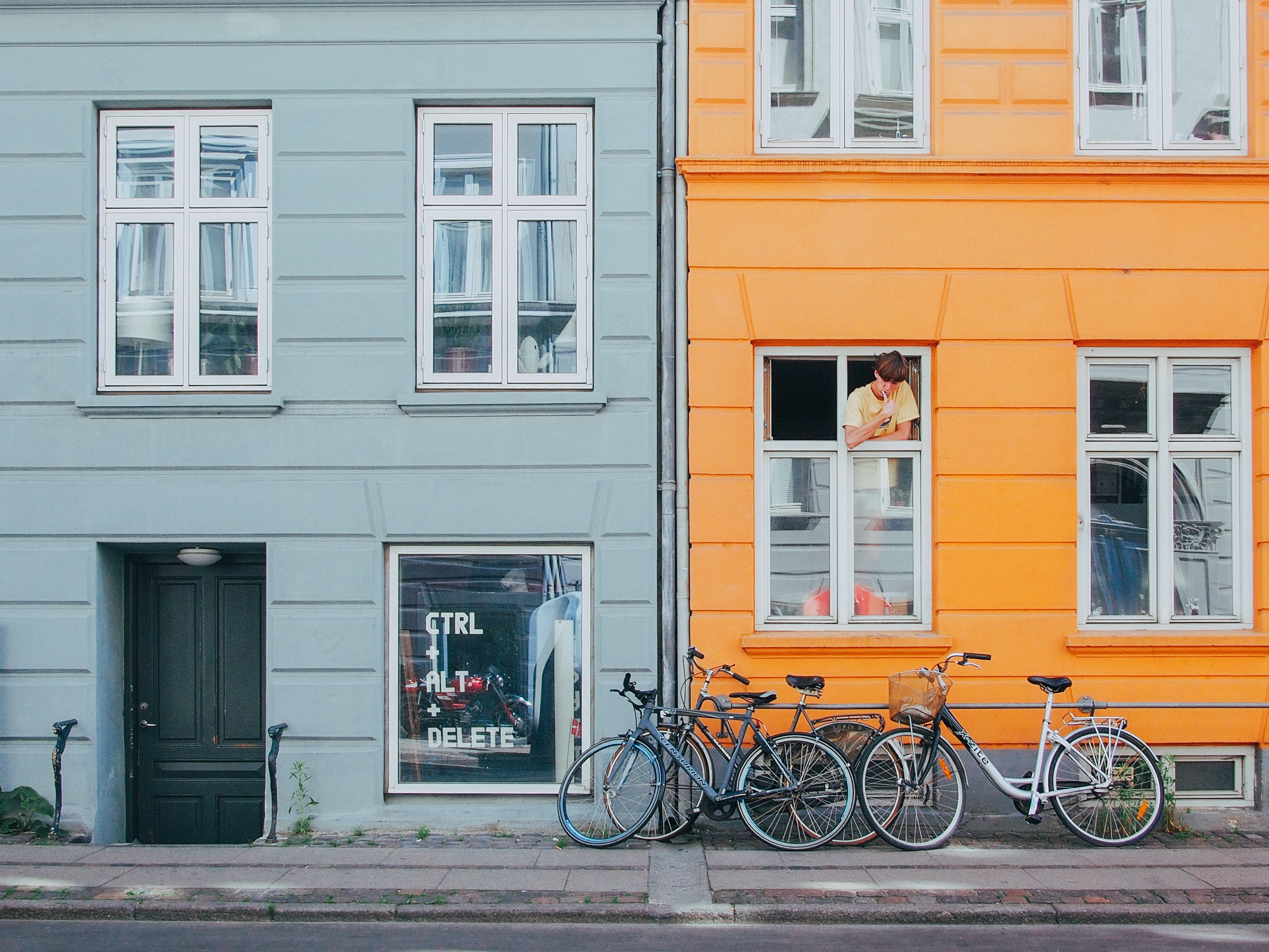 Norrebro Copenhagen area