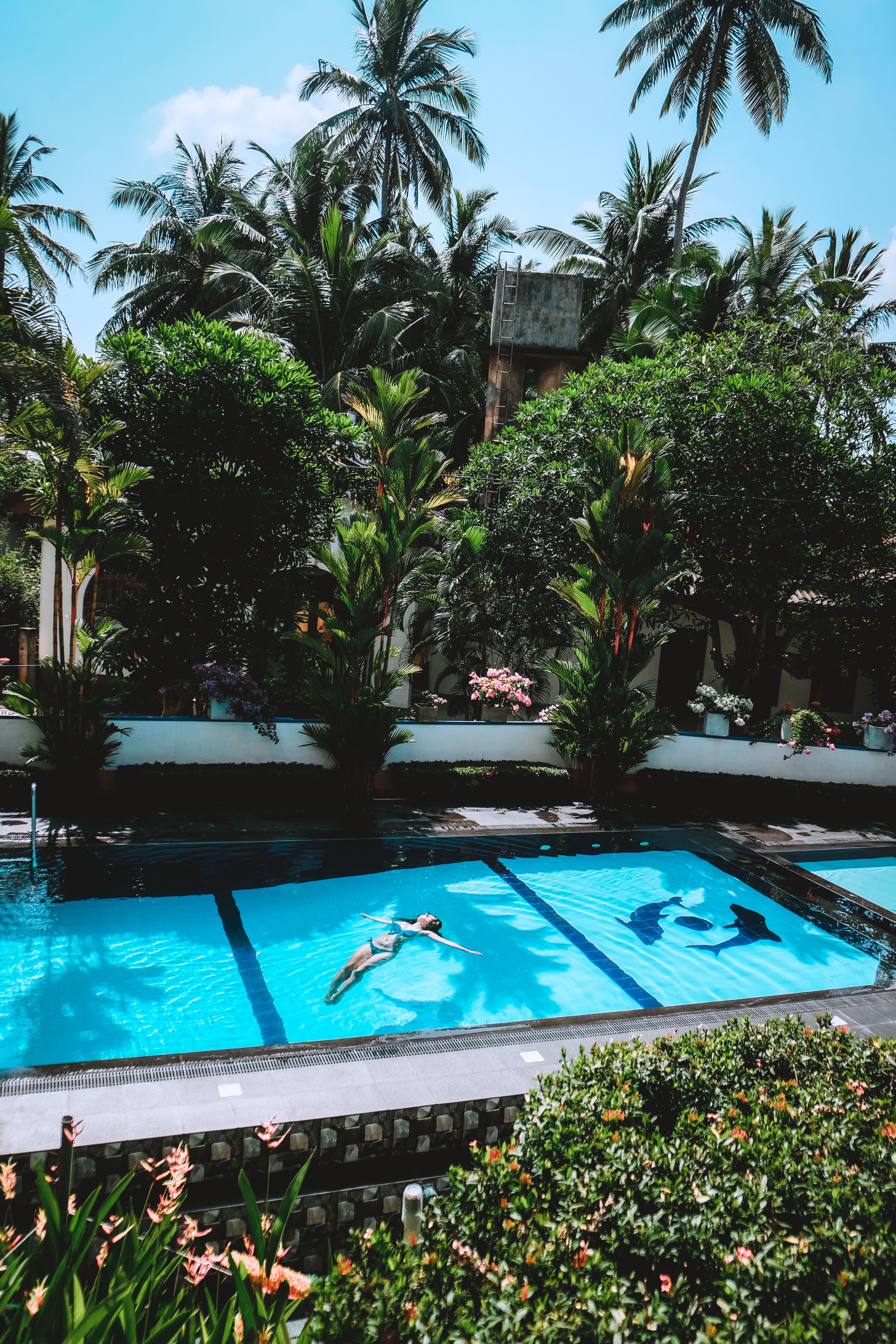 sri lanka hotel with swimming pool