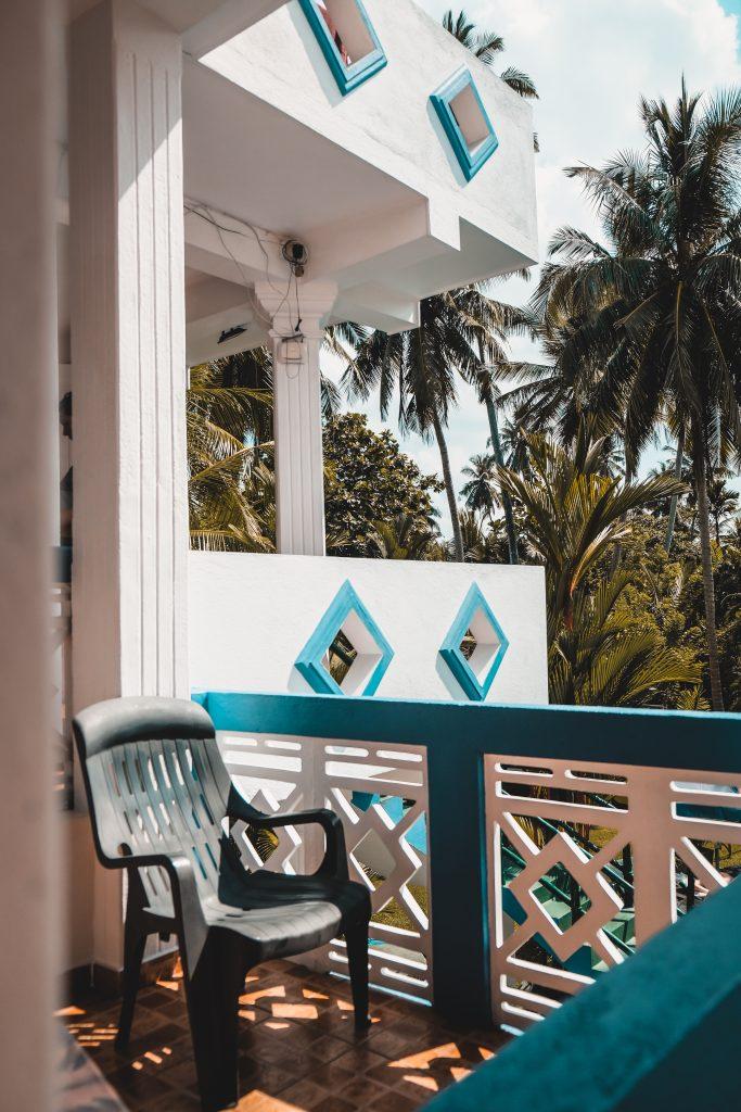 hikkaduwa hotel balcony view