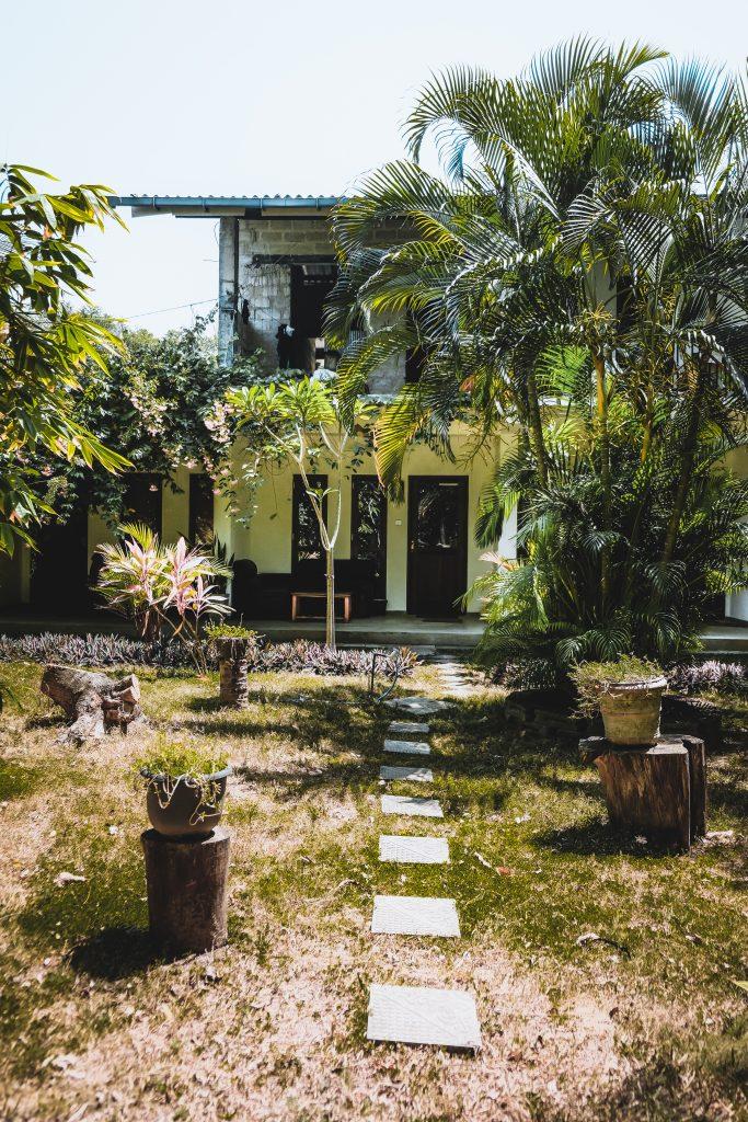 garden in ocean nature resort talalla sri lanka