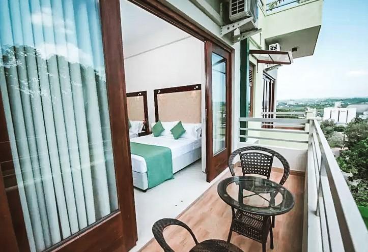 balcony view mount rich hotel rumassala