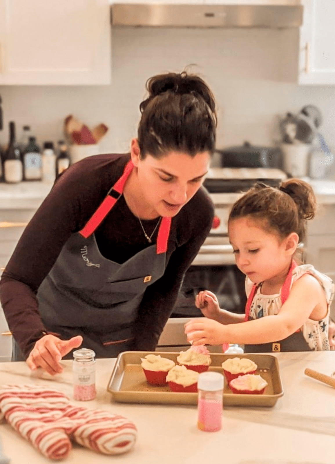 cooking class with children