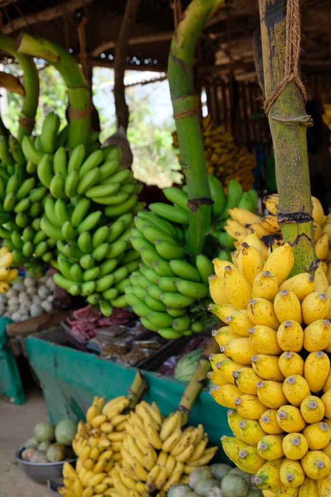 banana fruit stall in sri lanka
