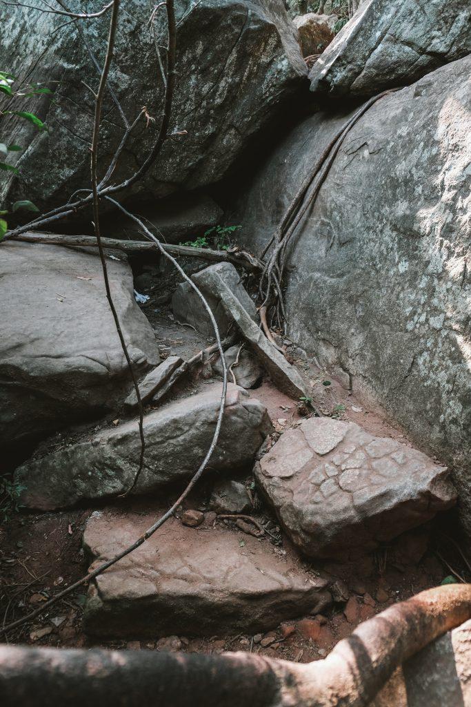 hardcore hike to pidurangala rock