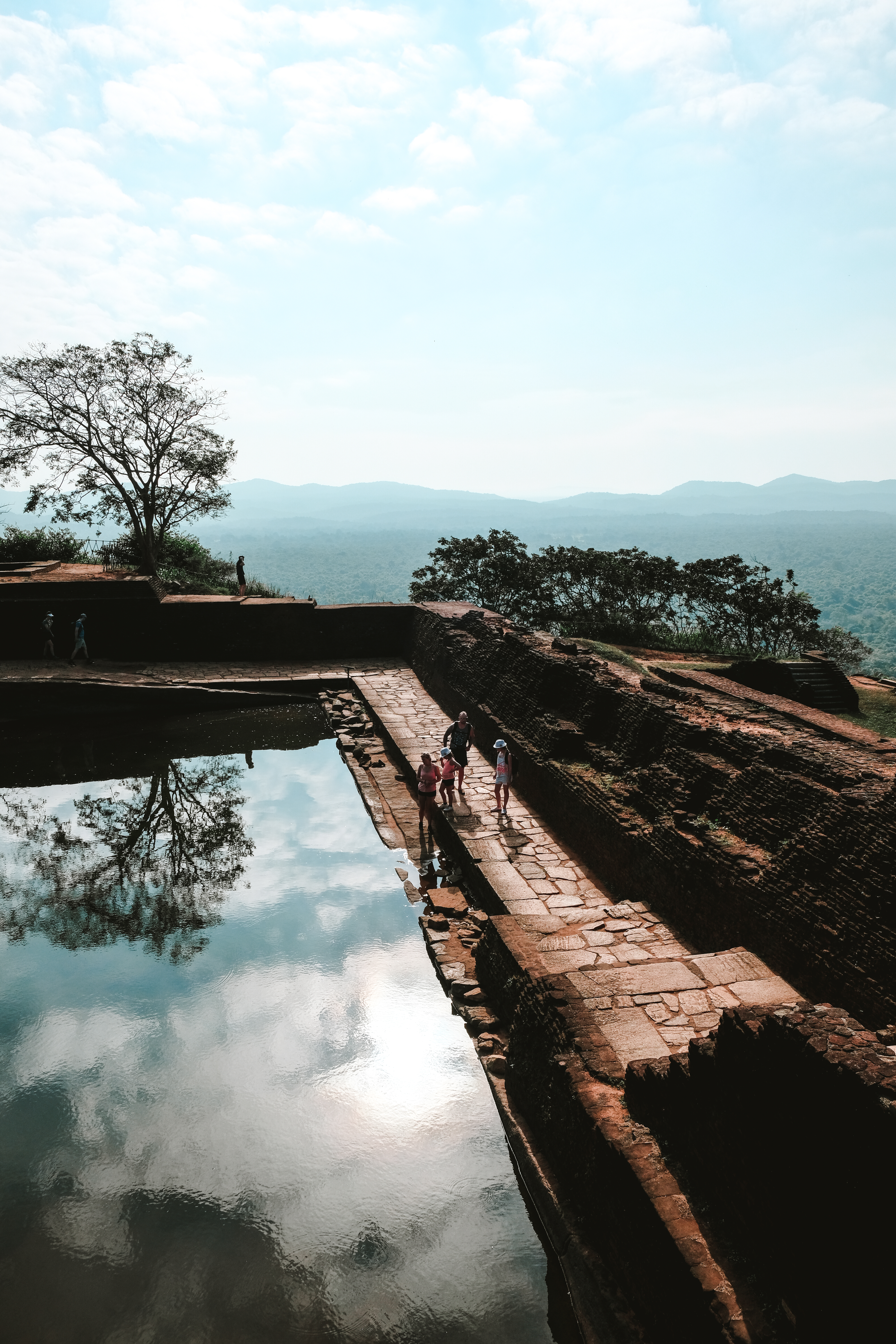 beautiful view from the top of sigiriya rock