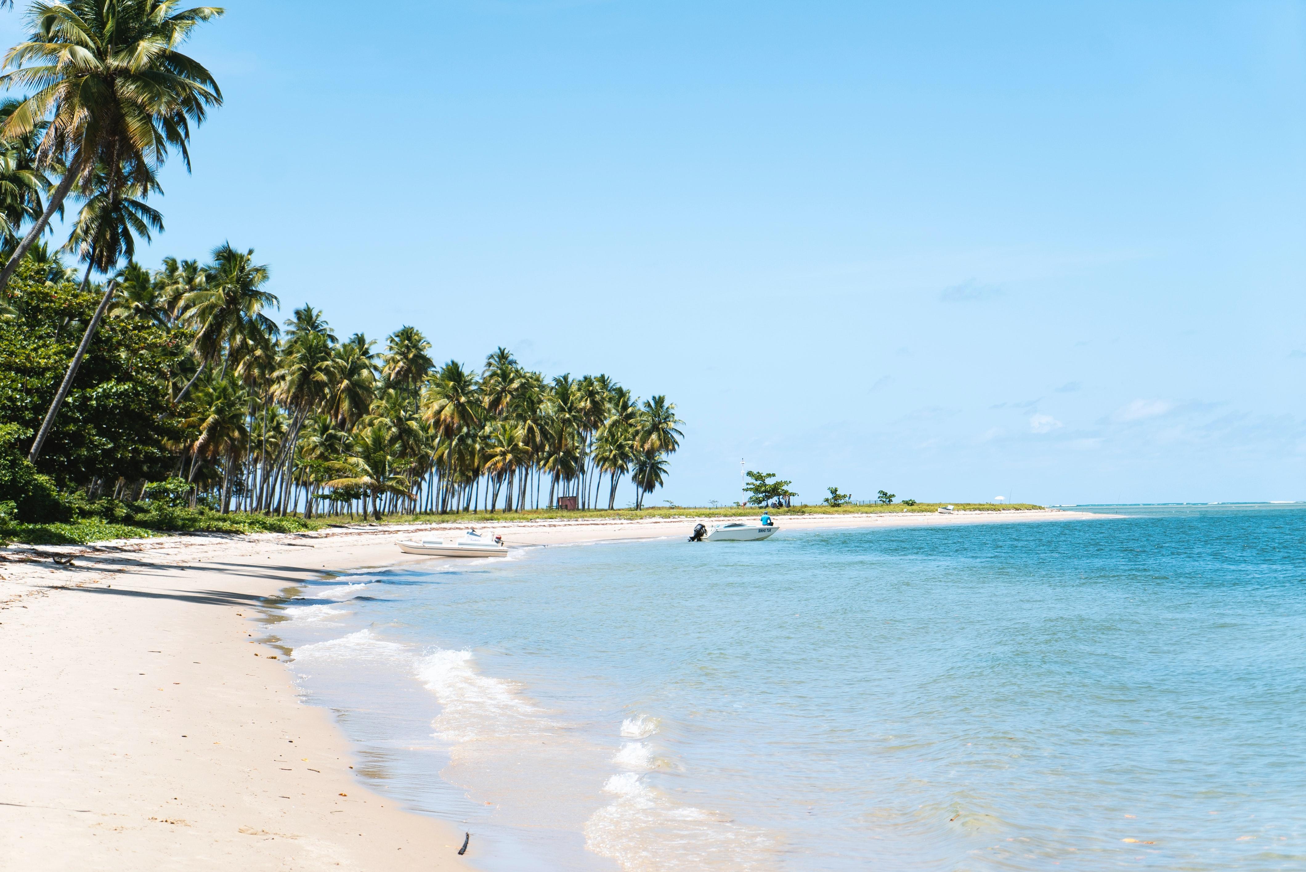 beautiful calm beach