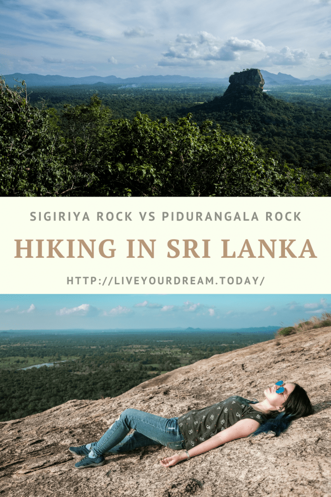 hiking in sri lanka live your dream today pin