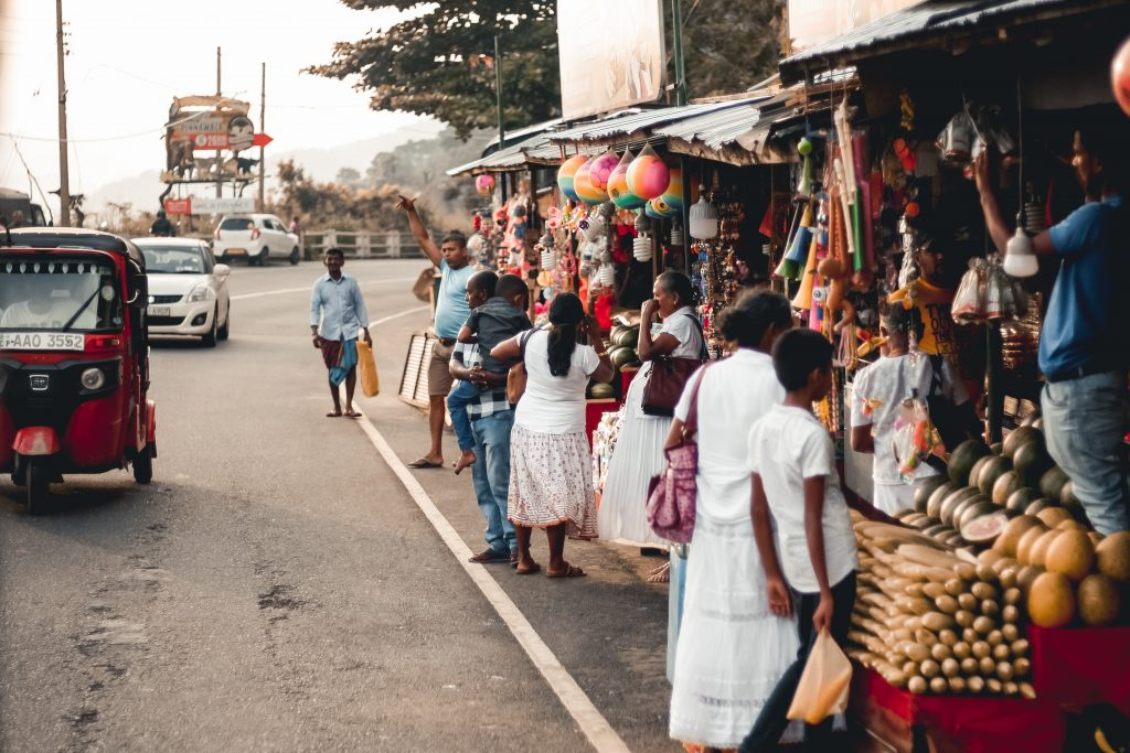 sri lankan local market - cultural travel