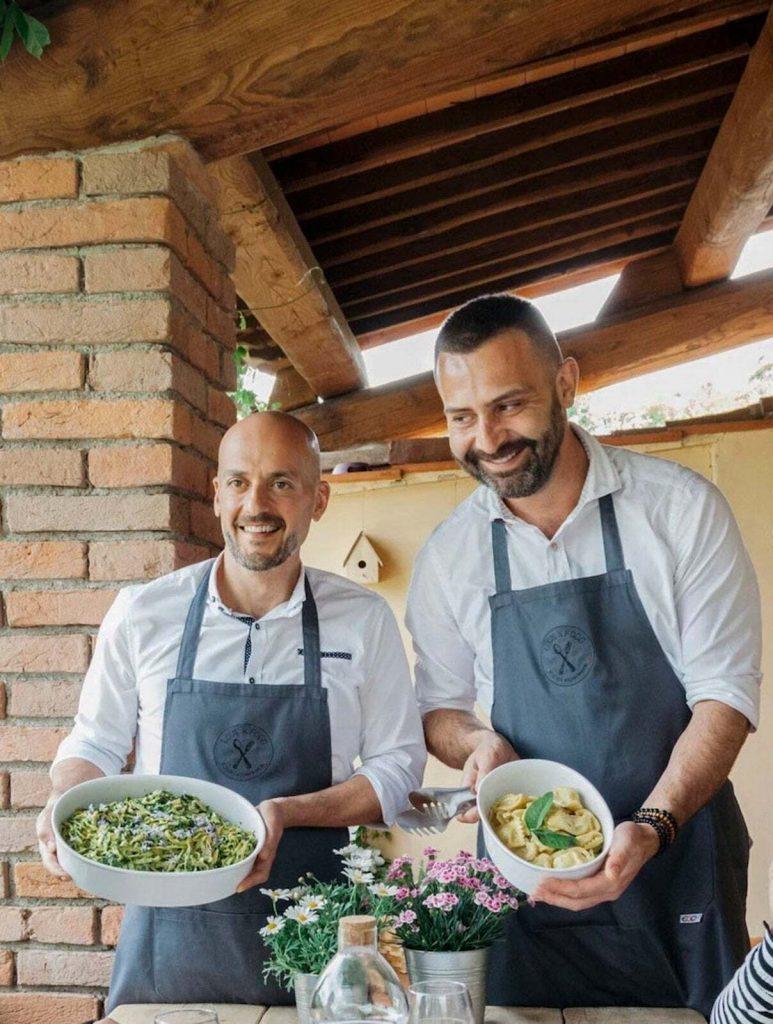masterclass to make pasta with italians