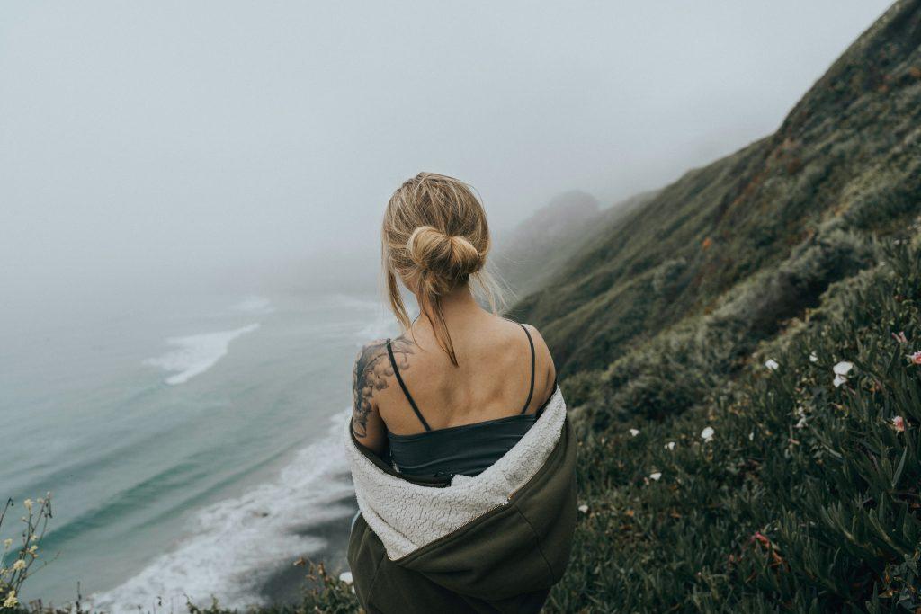 single female traveler
