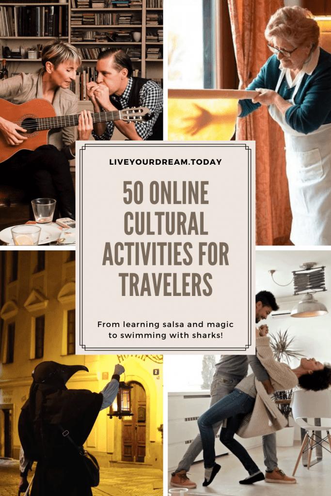 50 online cultural activities for travelers