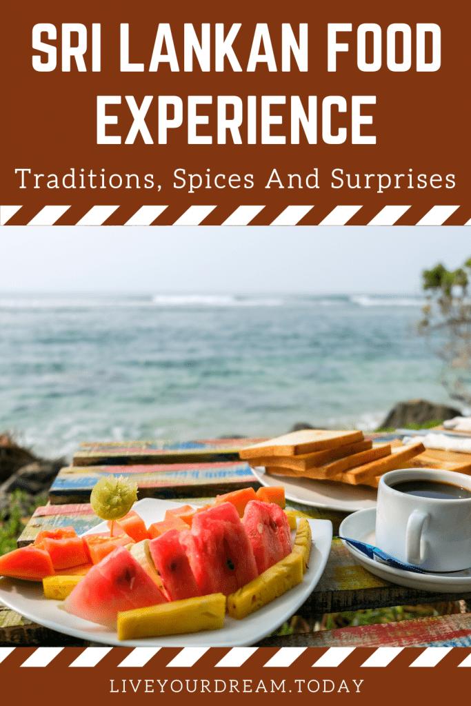 sri lankan food experience