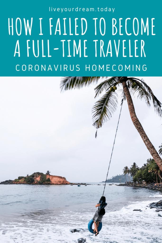coronavirus homecoming trip