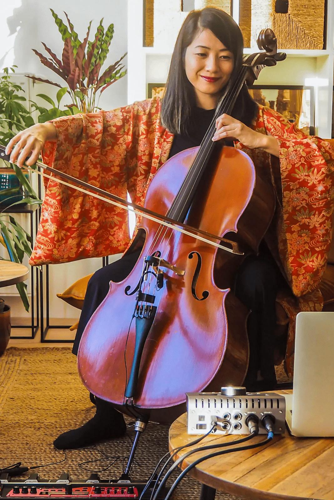 cello meditation concert netherlands online cultural activity