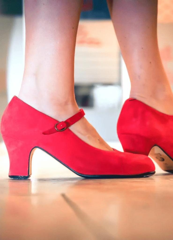 flamenco dancing class online spain shoes