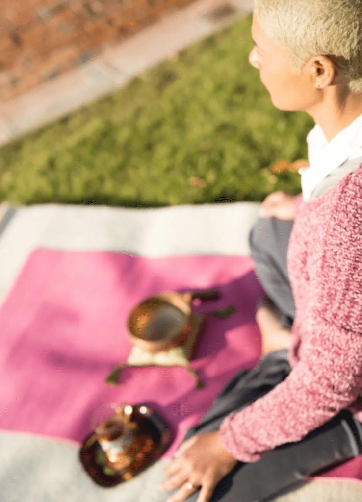 online yoga meditation experience