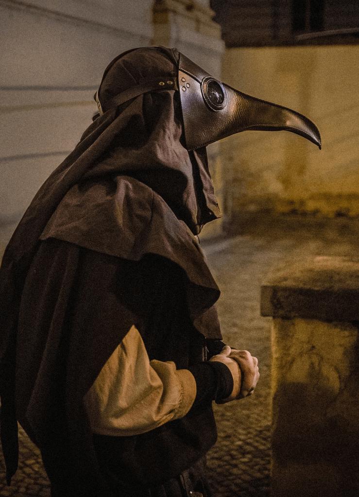 plague doctor in prague cultural activity