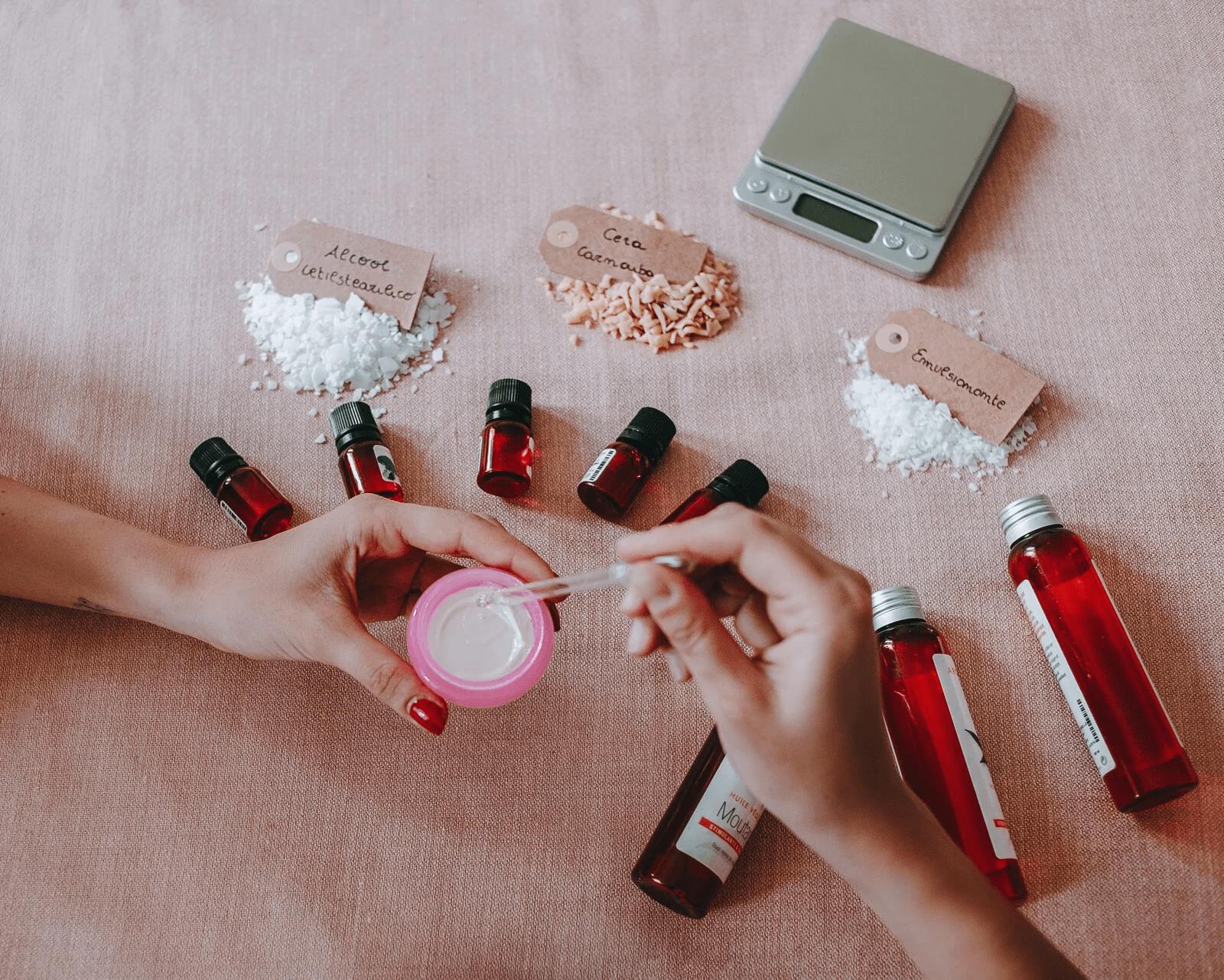 skincare and natural cosmetics masterclass