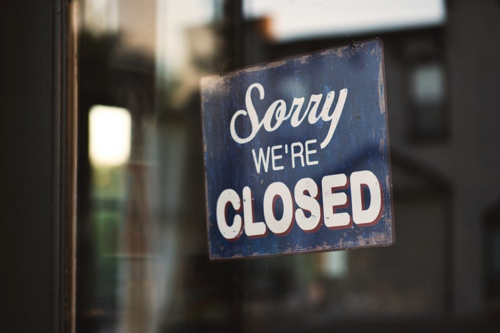 closed attractions around the world