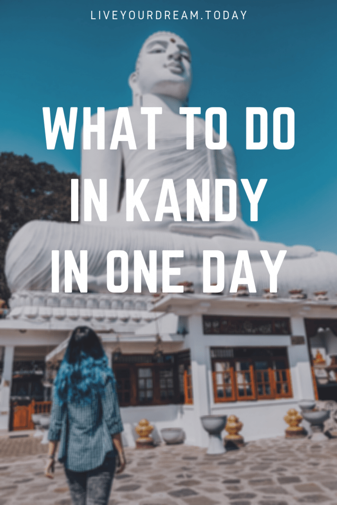 what to do in kandy in one day
