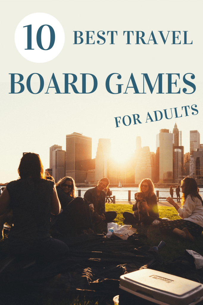 best board games to play while traveling