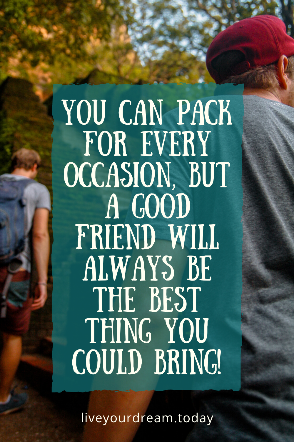 travel with friends inspiration