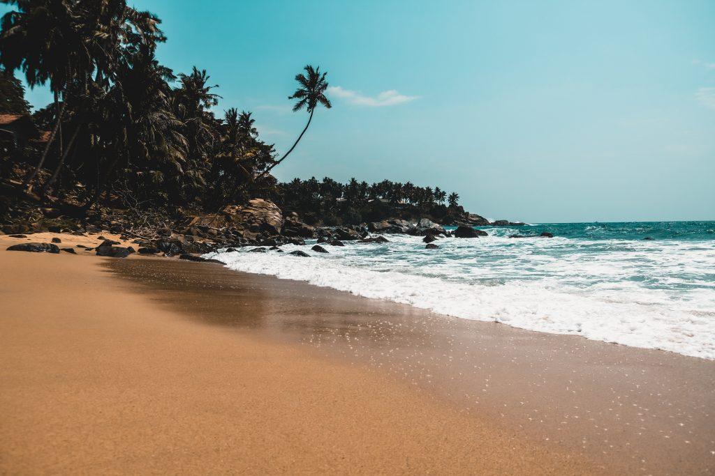 south coast of sri lanka gandara beach