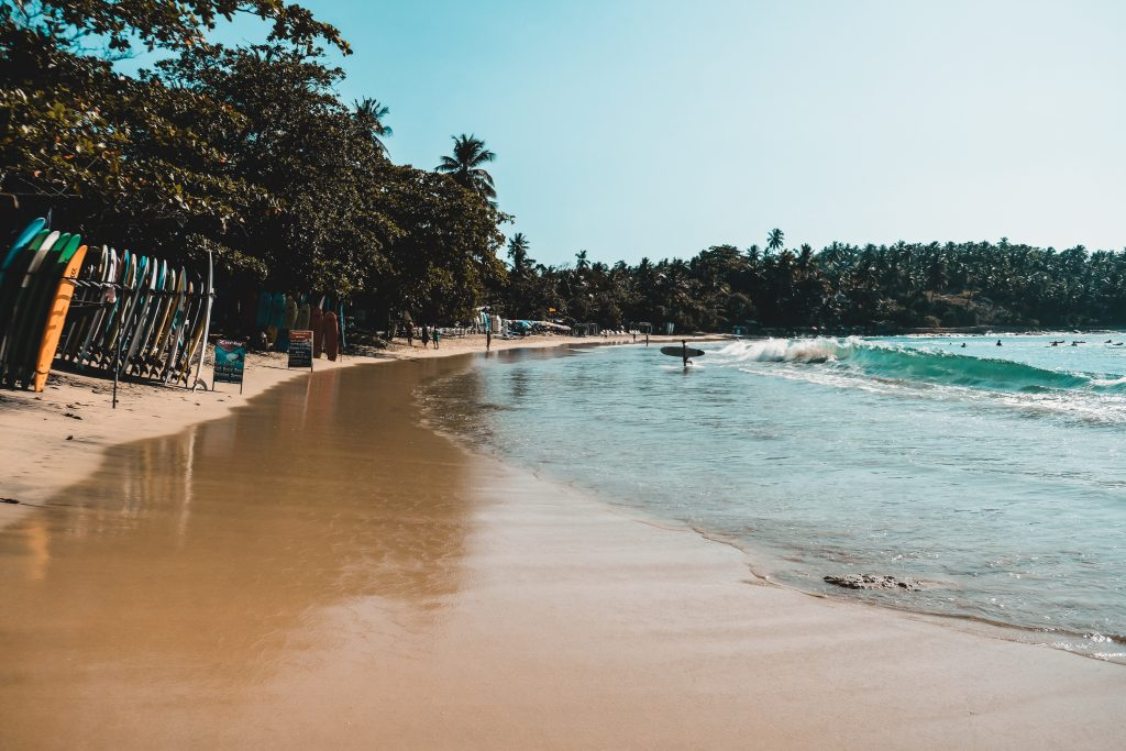 South coast of Sri Lanka - Hiriketiya beach