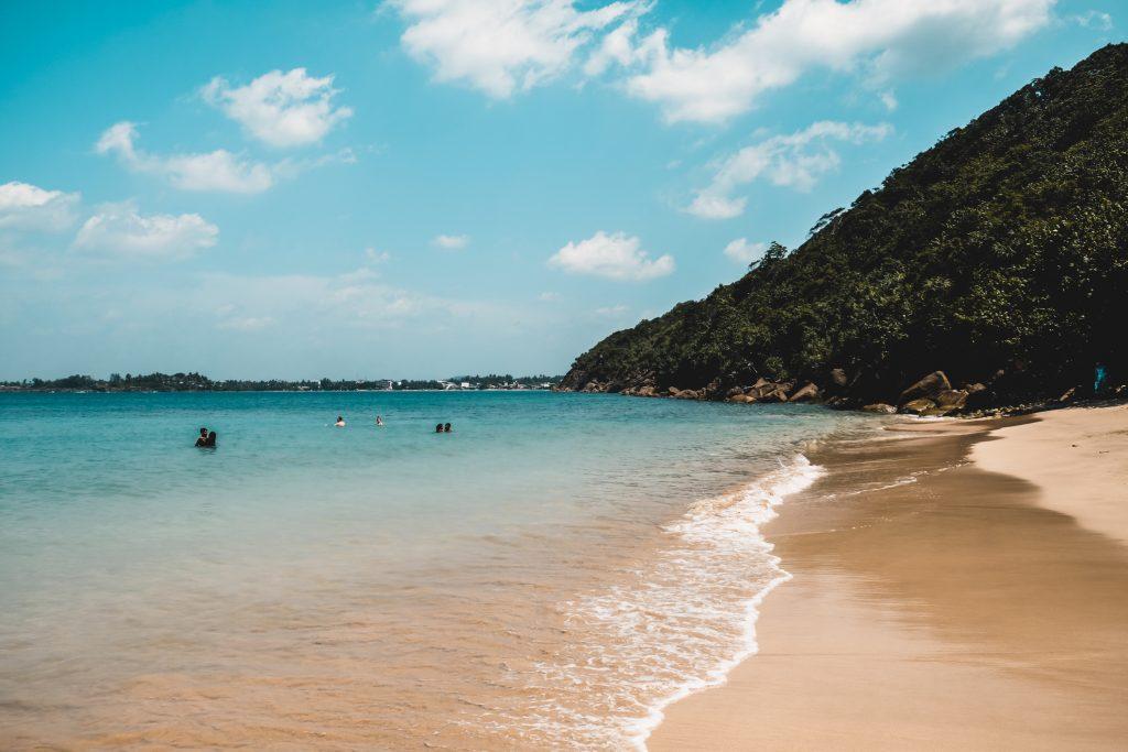 Jungle beach - best beach in Sri Lanka