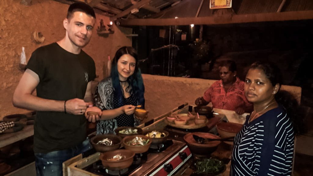 kandy cooking class with local family