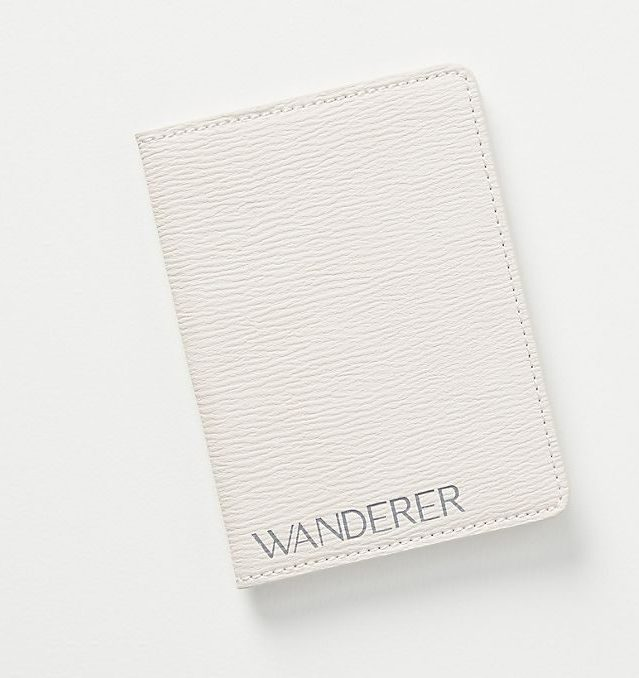 cute minimal passport cover