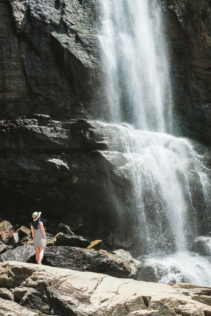must visit romantic ramboda falls in Kandy, sri lanka
