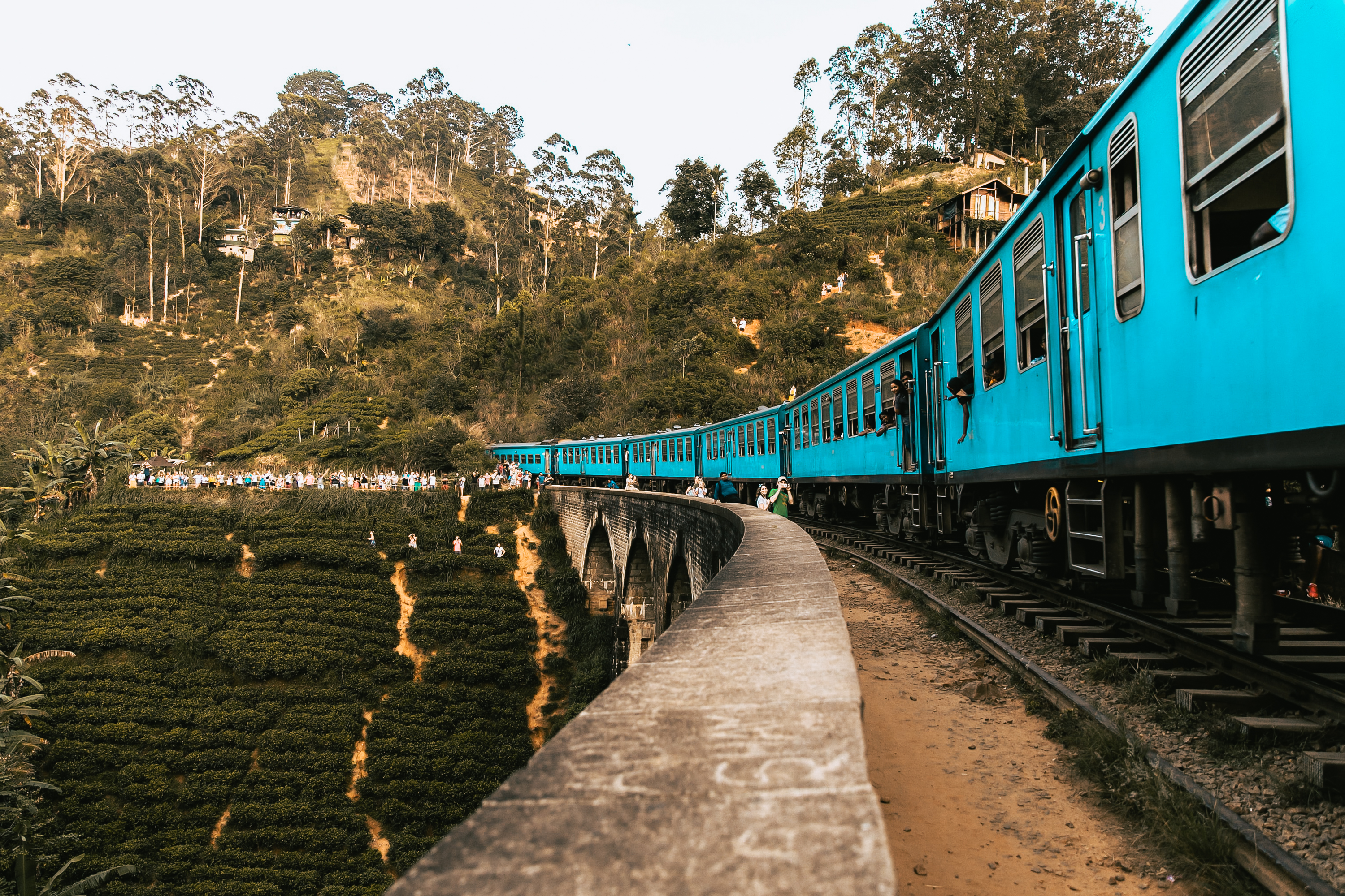 hop on a romantic scenic train ride from kandy to ella in sri lanka