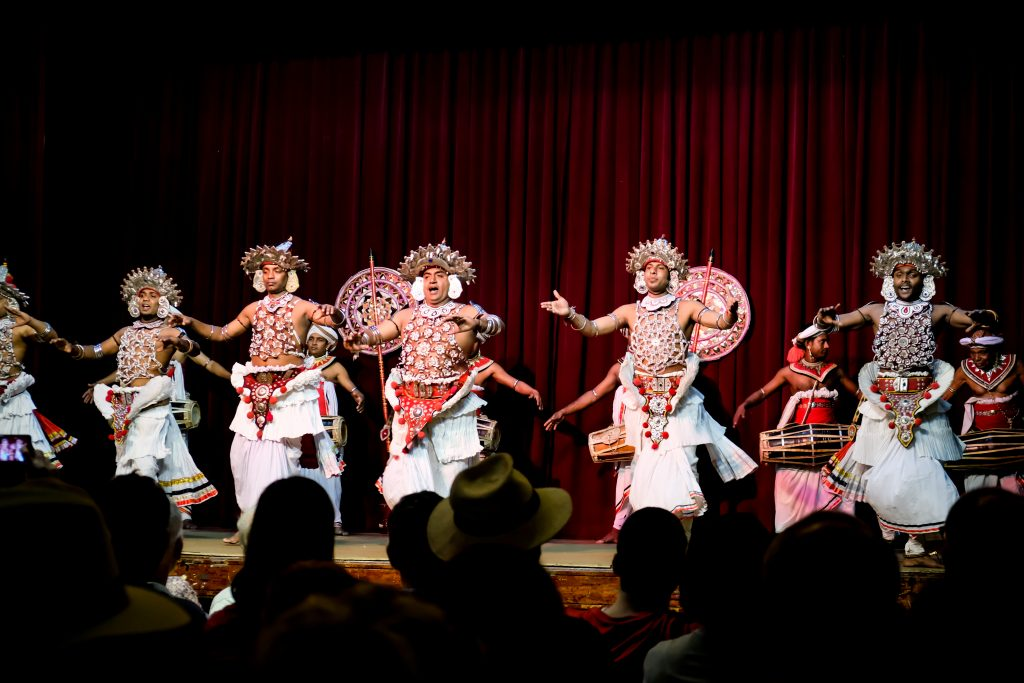 sri lanka cultural performance