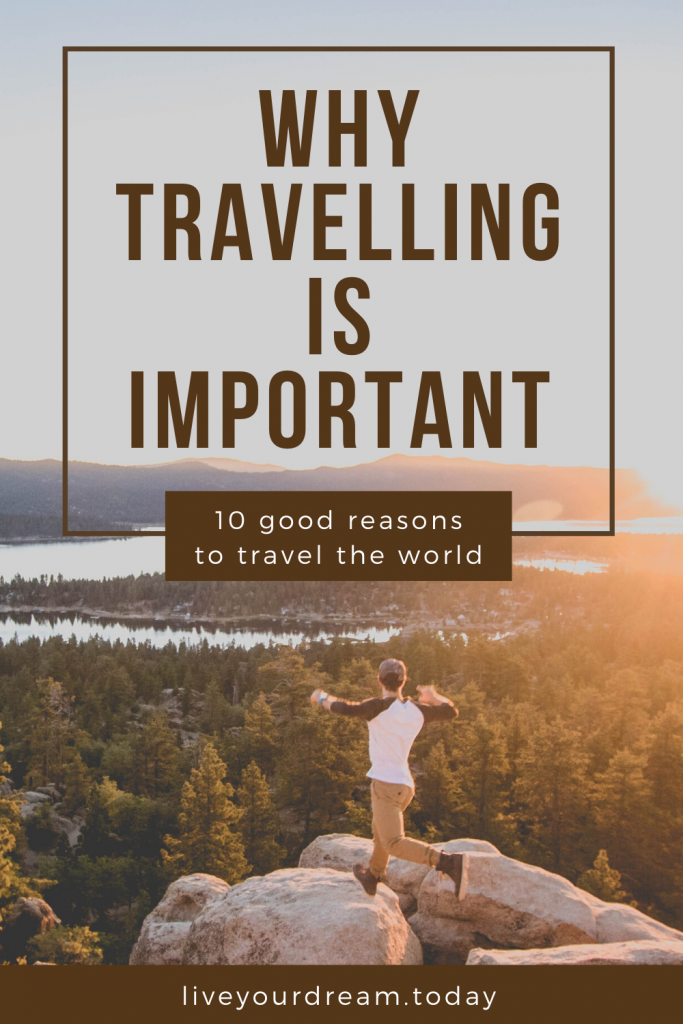 the importance of travelling