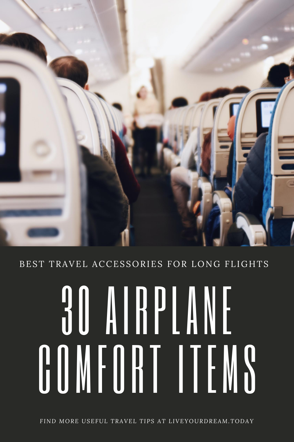 airplane comfort items for long haul flights