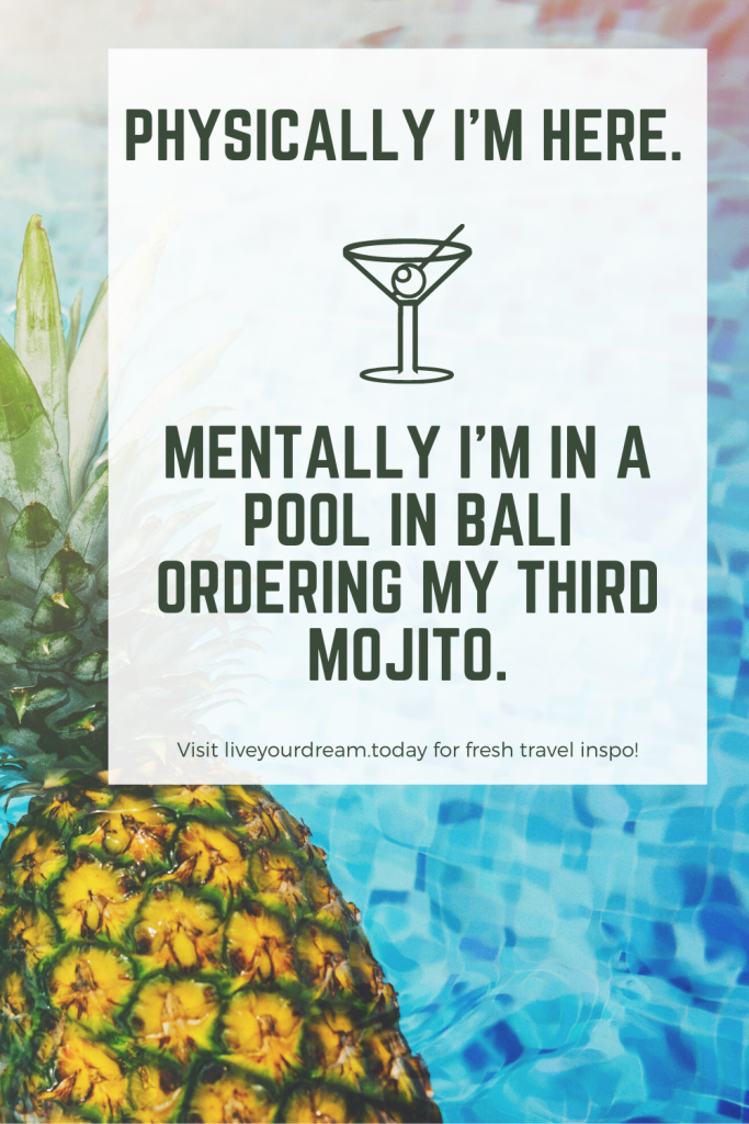 have fun while traveling cocktail quote