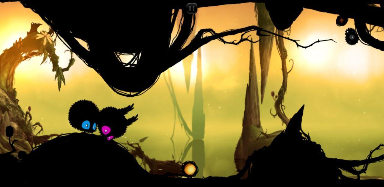 Badland is a cute Android game to play for a couple