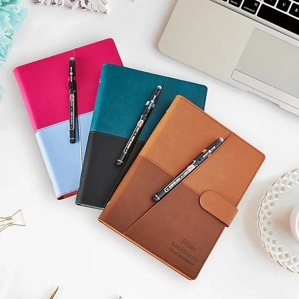 erasable journal for a business person