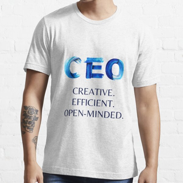 tshirt for ceo business owner