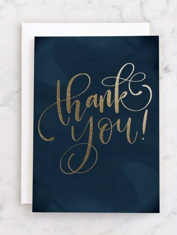 thank you card for employees